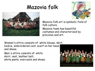 Mazovia  folk