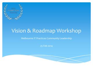 Vision & Roadmap Workshop
