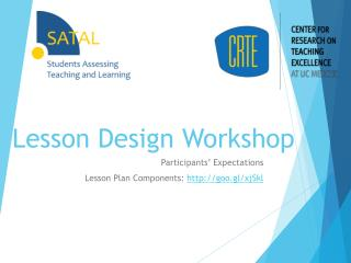 Lesson Design Workshop