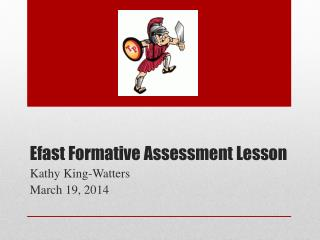 Efast  Formative Assessment Lesson