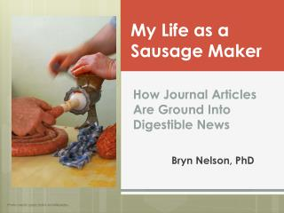 How Journal Articles  Are  Ground Into Digestible News