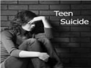 About Teen Suicide