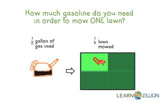 How much gasoline do you need in order to mow ONE lawn?