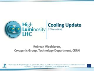 Cooling Update ( 27 March  2014)