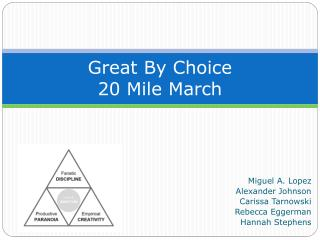 Great By Choice 20 Mile March