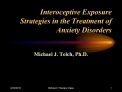 Interoceptive Exposure Strategies in the Treatment of Anxiety Disorders