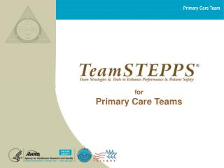 for Primary Care Teams