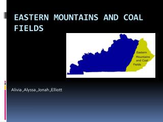 Eastern mountains and coal fields