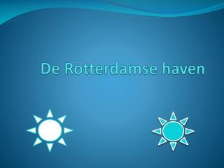 De Rotterdamse haven