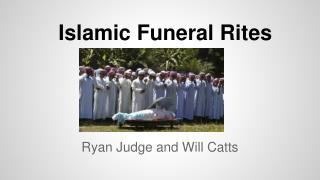 Islamic Funeral Rites