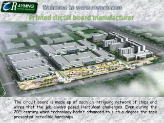Printed Circuit Board Manufacturer China