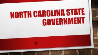 North Carolina State Government