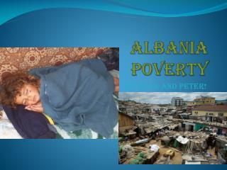 Albania Poverty