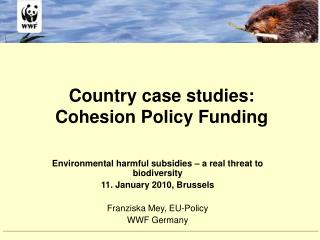 Country case studies:  Cohesion Policy Funding