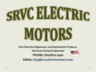 SRVC ELECTRIC MOTORS