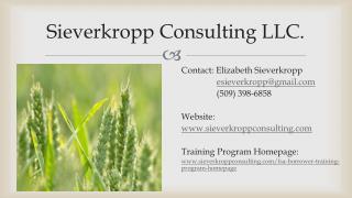 Sieverkropp Consulting LLC.