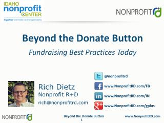 Beyond the Donate Button Fundraising Best Practices Today