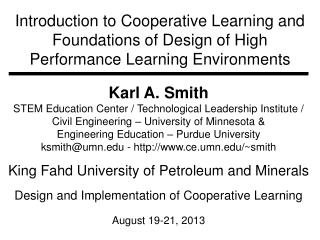 Karl A. Smith