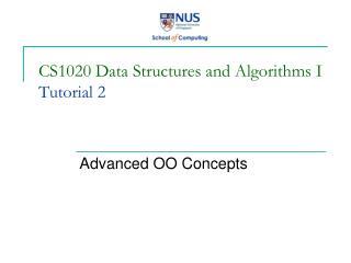 CS1020 Data Structures and Algorithms I Tutorial 2