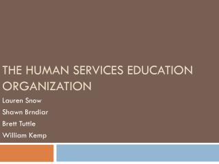 The Human Services Education Organization
