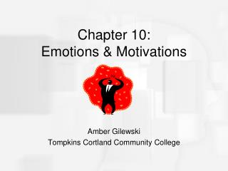 Chapter 10:  Emotions & Motivations