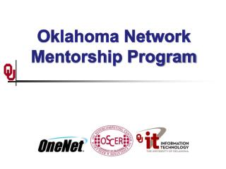 Oklahoma Network Mentorship Program