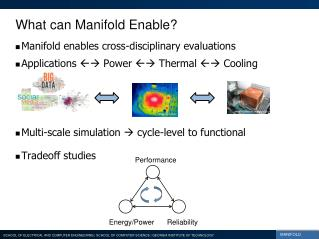 What can Manifold Enable?