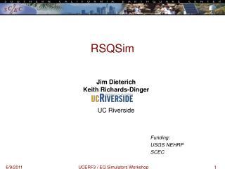RSQSim