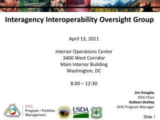 Interagency Interoperability Oversight Group