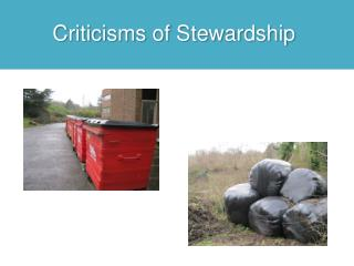 Criticisms of Stewardship