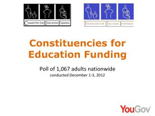 Constituencies for Education Funding