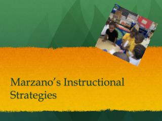 Marzano's  Instructional  Strategies