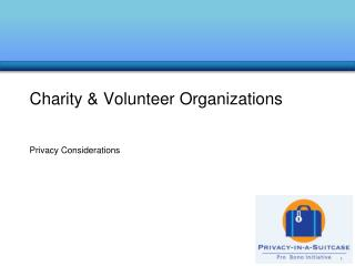 Charity & Volunteer Organizations