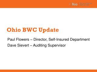 Ohio BWC Update