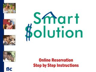 Online Reservation  Step by Step Instructions