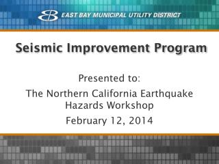 Seismic Improvement Program