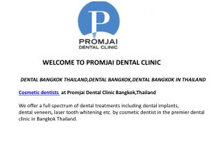 Teeth Whitening Thailand