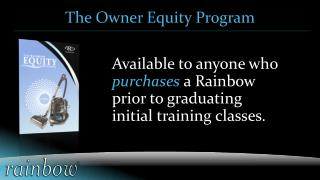 The Owner Equity  Program