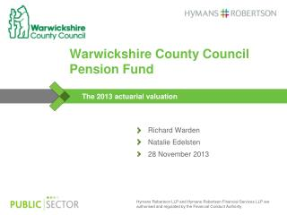 Warwickshire County Council Pension Fund