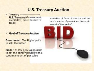 U.S. Treasury Auction
