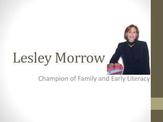 Lesley Morrow