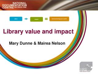 Performance Measurement  in Libraries