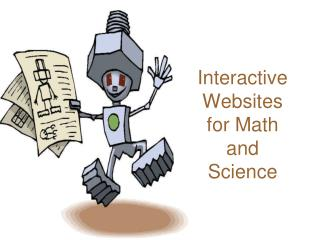Interactive Websites for Math and Science