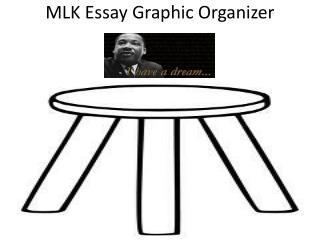 MLK Essay Graphic Organizer