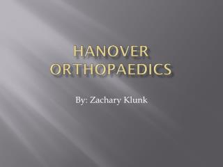 Hanover Orthopaedics