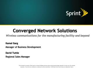 Converged Network Solutions