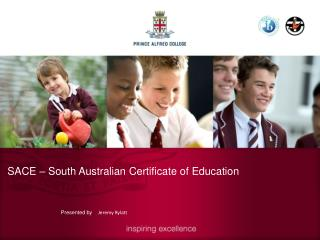 SACE – South Australian Certificate of Education