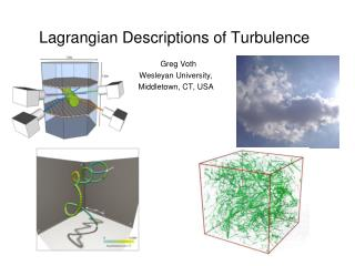 Lagrangian  Descriptions of Turbulence