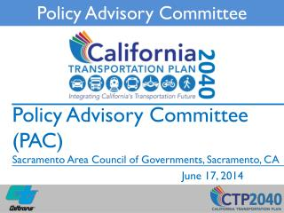 Policy Advisory Committee
