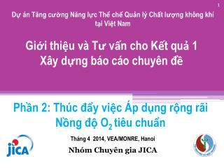 Dự án Tăng cường Năng lực Thể chế Quản lý Chất lượng không khí tại Việt  Nam